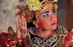 Legong Dance, Ubud,  Bali, Indonesia, Asia, paesaggi
