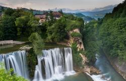 Jaice waterfall, Pliva river