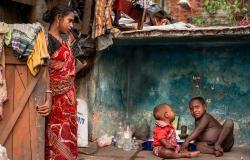 Crematorium Slum, Kolkata