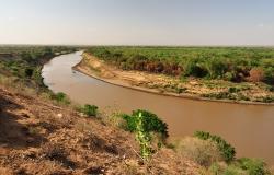 Valle dell'Omo River, Etiopia, Africa