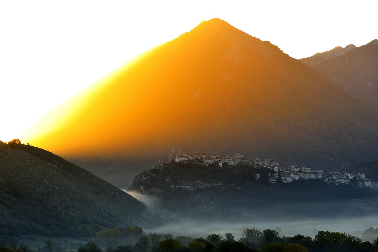 Parco Nazionale d'Abruzzo, veduta da Pescasseroli, Abruzzo